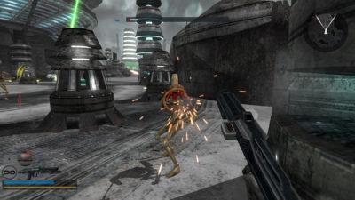 Spillet er fra 2005, så forvent mye gråfarger.