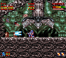 Dette er originale Super Turrican. Bilde: Mobygames.