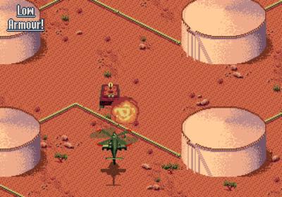 Olje var viktig i spillet, som i virkelighetens krig (Amiga).