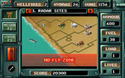 Informasjonsskjermen (MS-DOS).