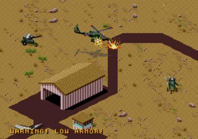 For å etablere luftherredømme må du ta ut fiendens flybaser (Mega Drive).