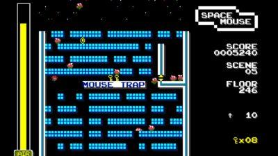 Nesten i mål i den NES-inspirerte versjonen.