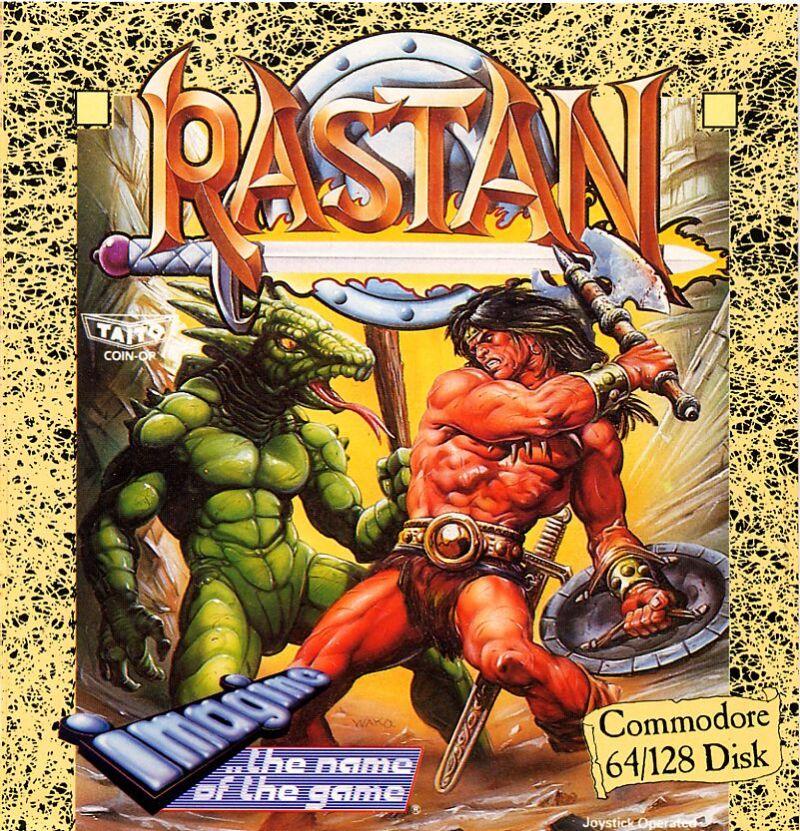 Barbarkrigere var vanlige hovedpersoner i spill på åttitallet, og her er det ikke veldig vanskelig å gjette seg til inspirasjonskilden.
