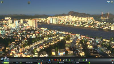 Cities: Skylines - by med elv