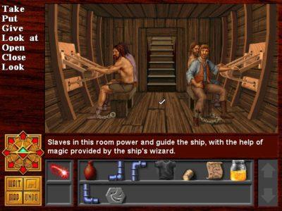 Spillet bruker et enkelt, men effektivt grensesnitt.