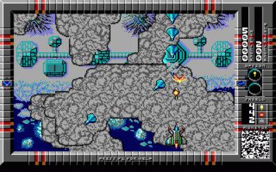 Major Stryker bruker EGA-grafikk selv om det er fra 1993.