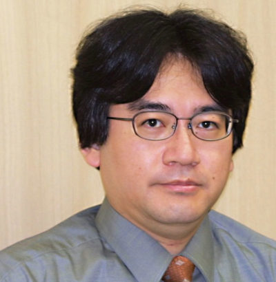 Satoru Iwata i 2001. Bilde: Nintendo.