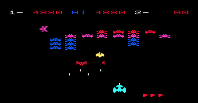 Star Battle for VIC-20.