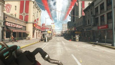 Et av overraskende få kule miljøer i spillet. Synd det nesten ikke ble brukt.