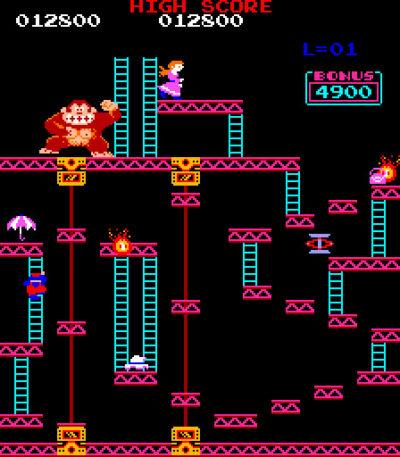Donkey Kong. Bilde: Mobygames.