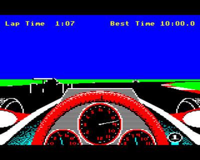 Revs på BBC Micro. Bilde: Mobygames.