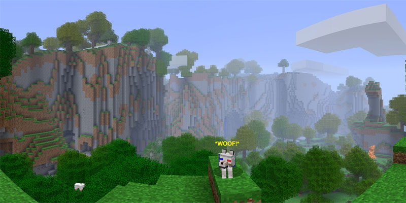 minecraft far lands