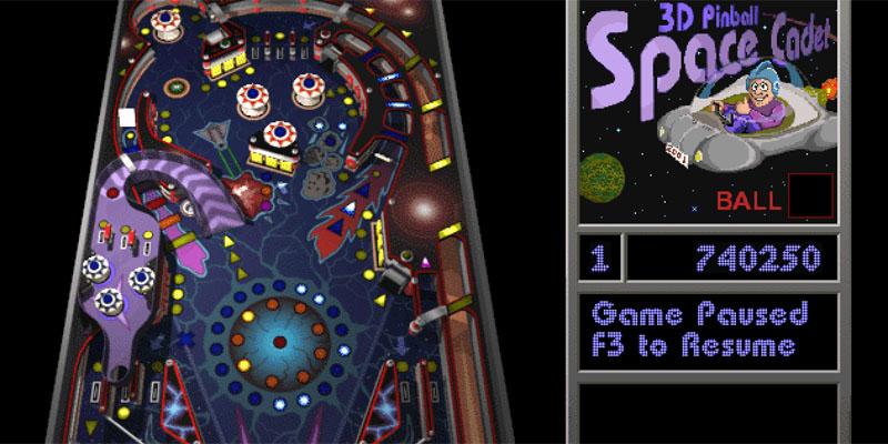 space cadet 3d pinball