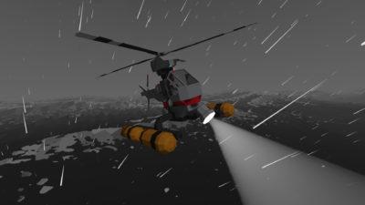 Det finnes ikke dårlig vær, bare dårlig designede helikoptere.