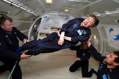 Stephen Hawking på ferie.