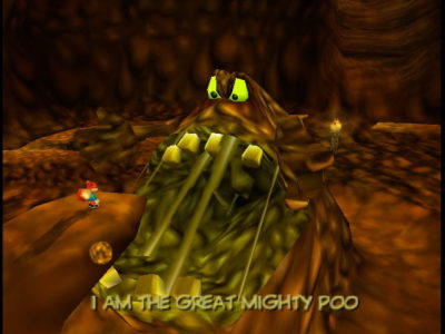 Dette er ikke søppelhaugen i Fraglene, men The Great Mighty Poo.