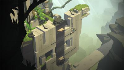 En solid hjernetrimmer med Lara i hovedrollen.