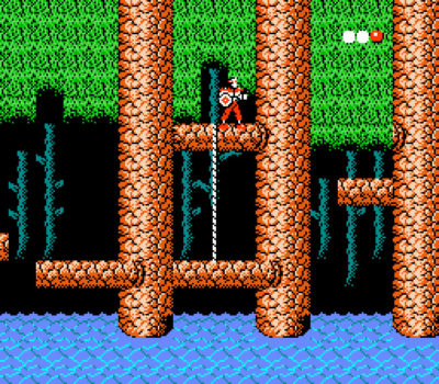 Rygar på NES.