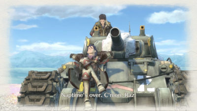 Valkyria Chronicles 4.
