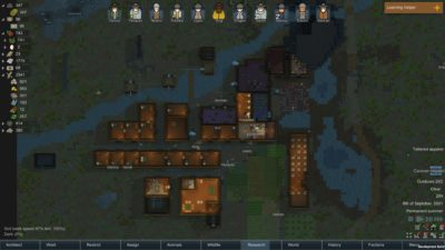 Base i Rimworld.