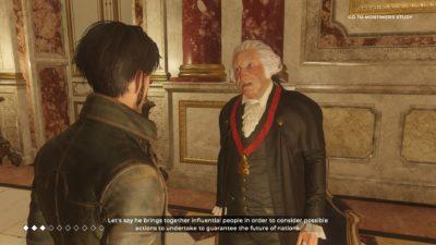 George Washington i The Council