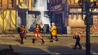 Slik ser Streets of Rage 4 ut.