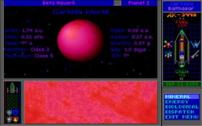En ny planet. Best å utforske. Bilde: Mobygames.