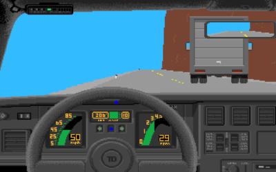 Originale Test Drive på Amiga.