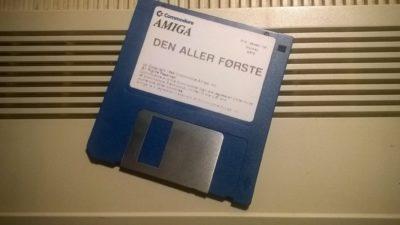 Disketten. Bilde: Hallgeir Holst.