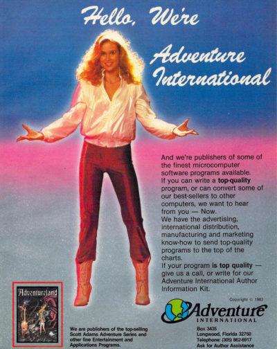 Adventurelands suksess gjorde Adventure International til en stor utgiver i det tidlige spillmarkedet.