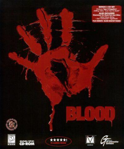 Coverbildet til Blood. Bilde: Mobygames.