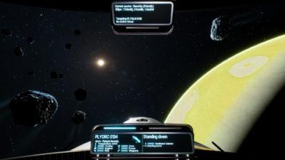 Spillet foregår rundt en gassgigant og månene dens.