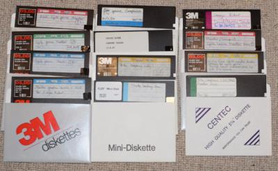 Diskettene fungerte fortsatt.