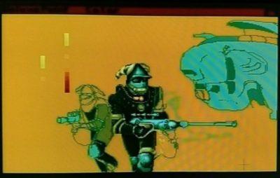 Uferdig versjon av tittelskjermen til Captain Fizz.