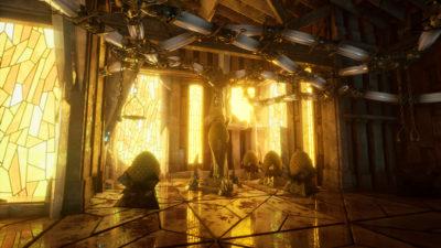 Spillet bruker Unreal-motoren.