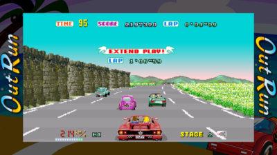 Out Run er fortsatt et av tidenes kuleste bilspill.