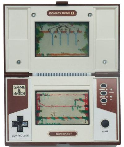 Bas de Reuver forteller at Donkey Kong II er det mest avanserte spillet som simuleres på siden for øyeblikket. Dette er et skjermbilde.