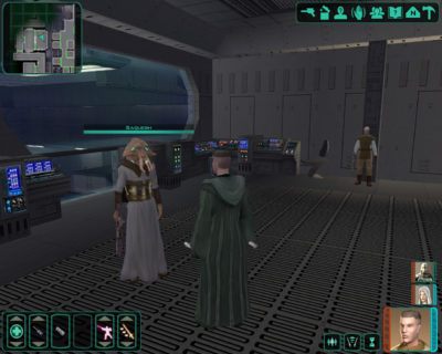 Knights of the Old Republic II (uten modifikasjonen).