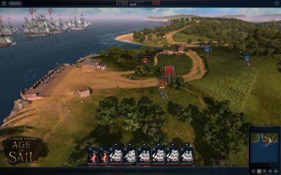 Et tidlig bilde fra spillet.