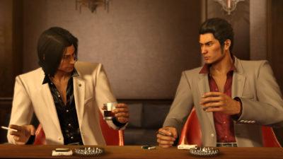 Både Kazuma og de andre hovedpersonene er storrøykere.