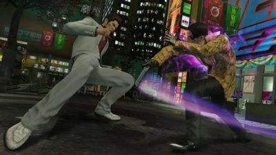 Jeg vet ikke hvorfor, men vi får flere kamper mot Majima Goro i nyversjonen.