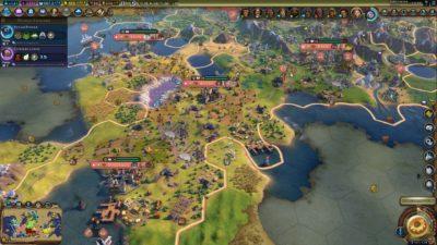 Jeg liker best å spille den første halvdelen av et Civilization-spill.