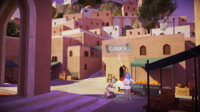Grafikkstilen er inspirert av tegneserier, med 2D-figurer i 3D-miljøer.
