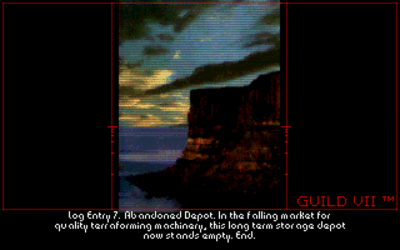 En av spillets mange stemningsfulle lasteskjermer (PC).