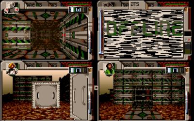 I dette bildet fra PC-versjonen ser vi en karakter som ikke har kartleggingsverktøy i ryggsekken.