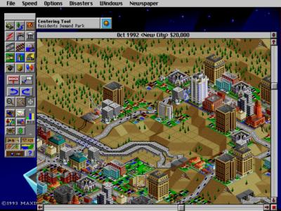 Ok, det er strengt tatt ikke min by, men spillets versjon av Barcelona.