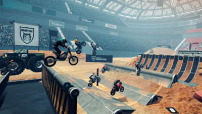 Trials Rising var frustrerende.