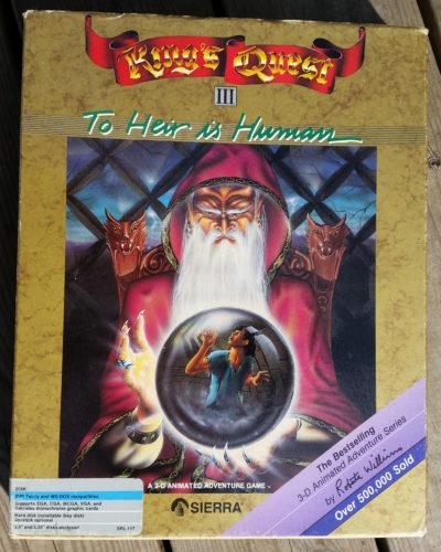 Spillboksen. Dette er relanseringen for MS-DOS fra 1987.