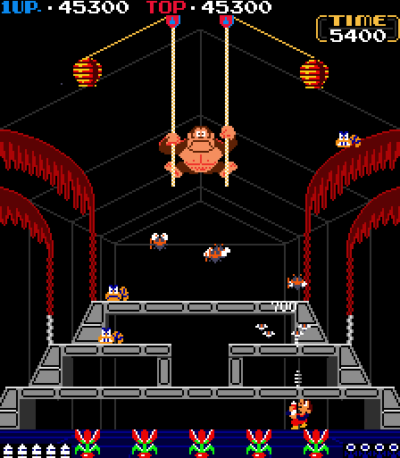 Den apen må ned!