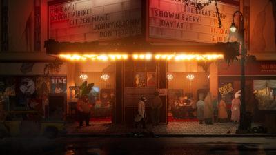 Spillet bruker en kombinasjon av 2D og 3D.